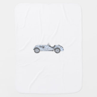 BMW 328 1936 BABY BLANKET