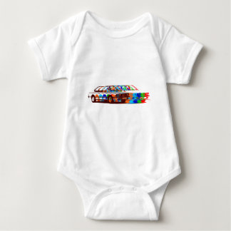 BMW Classic Full colours2 Baby Bodysuit