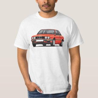 BMW E30 (3-series), metallic red, illustration T-Shirt