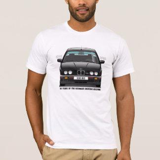 BMW E30 M3 30th Anniversary (Black Evo) Black Type T-Shirt