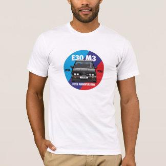 BMW E30 M3 30th Anniversary Roundel (Black Evo) T-Shirt