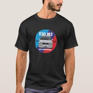 BMW E30 M3 30th Anniversary Roundel (Silver) T-Shirt