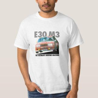 BMW E30 M3 DTM Racer (Bastos) Black Type T-shirts