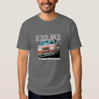 BMW E30 M3 DTM Racer (Bastos) White Type T Shirts
