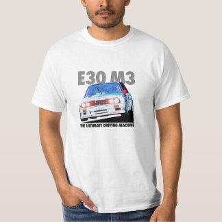 BMW E30 M3 DTM Racer (Warsteiner) Black Type T-shirts