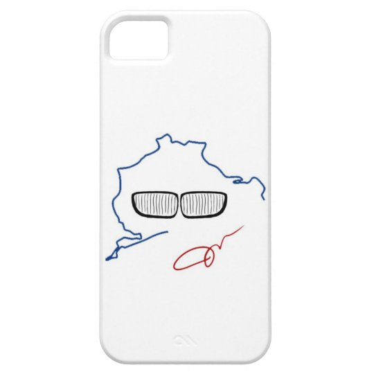 BMW Kidney Grill / Nurburgring Edition (White) iPhone