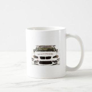 BMW M3 Racing Car Hand Painted Art Brush Template Coffee Mugs