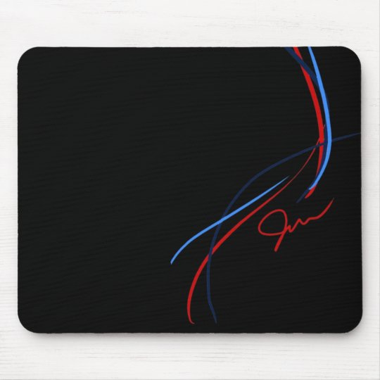 BMW M Stripes Mouse Pad