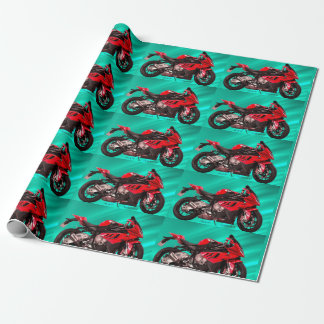 BMW Motorcycle for Matte Wrapping Paper