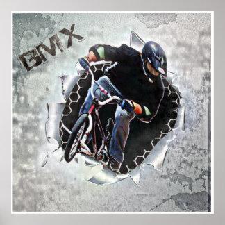 BMX 17, Copyright Karen J Williams Posters