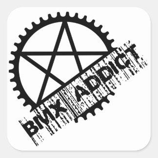 BMX Addict Square Sticker