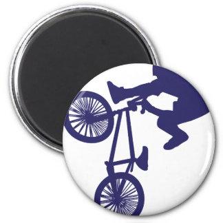 BMX BIKE RIDER REFRIGERATOR MAGNETS