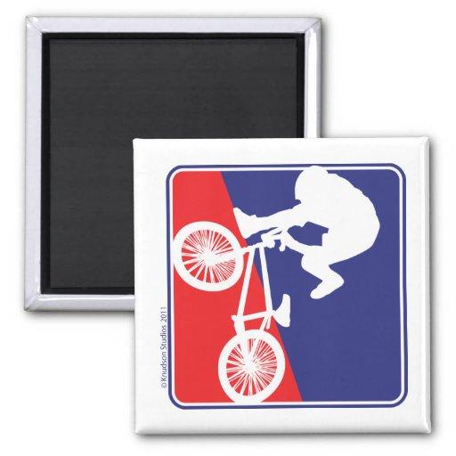 BMX Bike rider Magnets