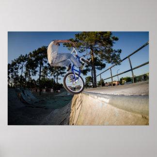 BMX Bike Stunt tap Poster