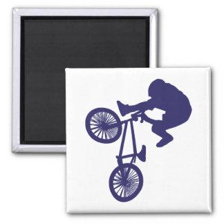 BMX Biker Refrigerator Magnet