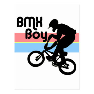 BMX Boy BMX Girl Post Cards