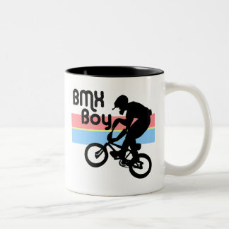 BMX Boy / BMX Girl Two-Tone Coffee Mug