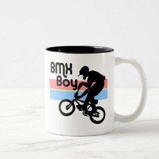 BMX Boy / BMX Girl Two-Tone Mug
