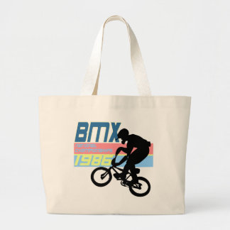BMX Championships 1986 Jumbo Tote Bag