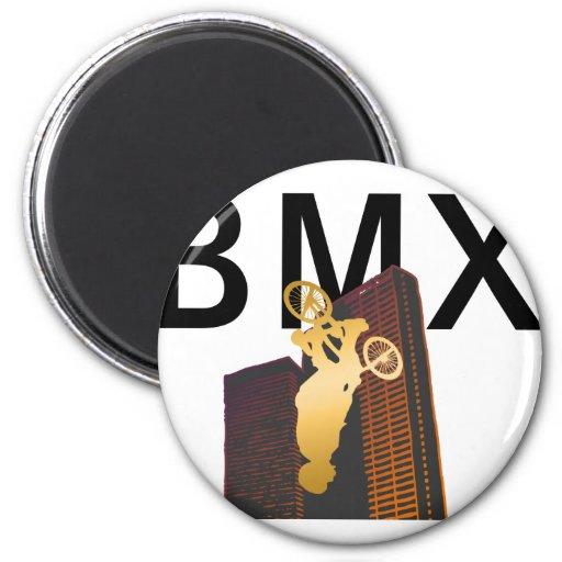 BMX CONTEST FRIDGE MAGNET