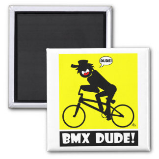 BMX DUDE-18 MAGNETS