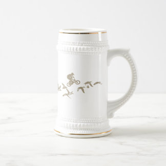 BMX Flying High Coffee Mugs