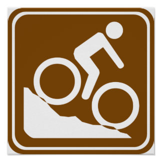 BMX Highway Sign