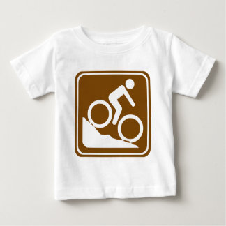 BMX Highway Sign Baby T-Shirt