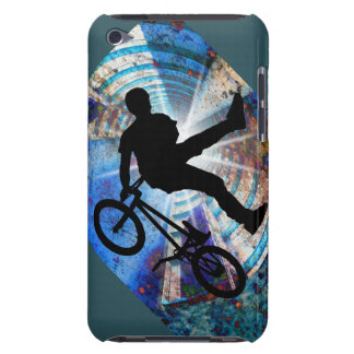 BMX in a Grunge Tunnel iPod Case-Mate Cases