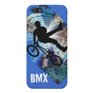 BMX in a Grunge Tunnel iPhone 5 Covers