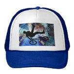 BMX in a Grunge Tunnel Mesh Hats