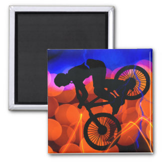 BMX in Light Crystals and Lightning Square Magnet