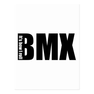 BMX - It's How I Roll Postcard