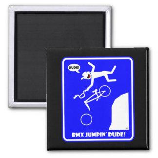 BMX JUMPIN -22 MAGNET