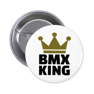 BMX King 6 Cm Round Badge