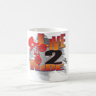 BMX Live to Ride Ride to Live Coffee Mug