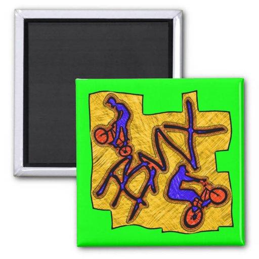 BMX FRIDGE MAGNETS