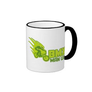 BMX Man Up Ringer Mug