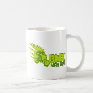 BMX Man Up Basic White Mug