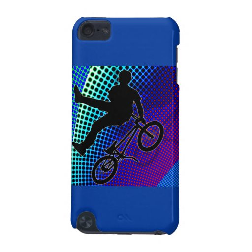 BMX on Fractal Movie Marquee iPod Touch (5th Generation) Cover