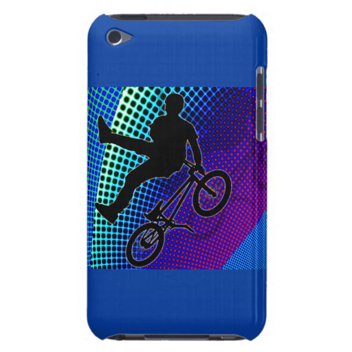 BMX on Fractal Movie Marquee iPod Touch Case-Mate Case
