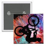 BMX on Rusty Grunge Pin