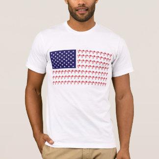 BMX Patriotic Biker T-Shirt