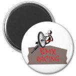 BMX RACING REFRIGERATOR MAGNET