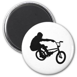 BMX Rider_3 Refrigerator Magnet