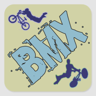 BMX SQUARE STICKER