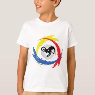 BMX Tricolor Emblem T-Shirt