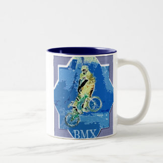 BMX  Two-Tone COFFEE MUG