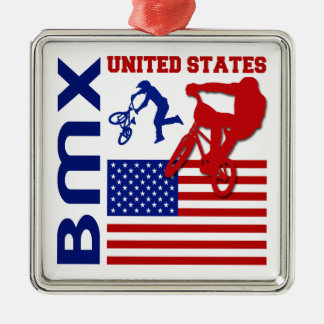 BMX United States Christmas Ornament