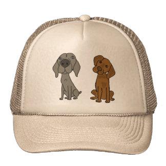 BN- Weimaraner and Pointer Hat